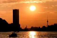 berlinkayak sunset